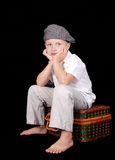 Ritratto del ragazzino Immagini Stock