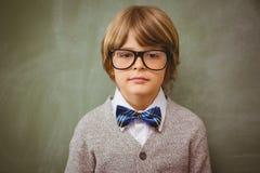 Ritratto del ragazzino sveglio Fotografie Stock