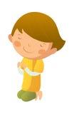 Ritratto del ragazzo illustrazione di stock