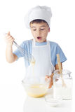 Ritratto del ragazzo del cuoco unico Fotografie Stock Libere da Diritti
