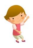 Ritratto del ragazzo felice illustrazione vettoriale