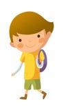 Ritratto del ragazzo felice Immagini Stock Libere da Diritti