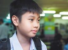 Ritratto del ragazzo felice dell'Asia Immagini Stock Libere da Diritti