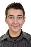 Ritratto del ragazzo dell'adolescente immagini stock libere da diritti