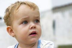 Ritratto del ragazzo sveglio Fotografia Stock