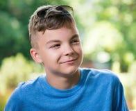 Ritratto del ragazzo teenager Fotografia Stock