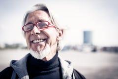 Ritratto del ` s dell'uomo senior Fotografia Stock Libera da Diritti