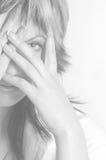 Ritratto del `s della donna Fotografia Stock