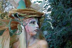 Ritratto del salice della foresta Fotografia Stock