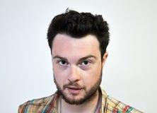 Ritratto del tirante barbuto Fotografia Stock
