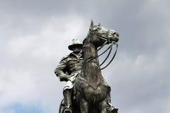 Ritratto del Ulysses S Washington DC del monumento di Grant Memorial Fotografia Stock Libera da Diritti