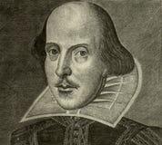 Ritratto del William Shakespeare Immagine Stock Libera da Diritti