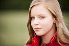 Ritratto dell'adolescente Fotografie Stock Libere da Diritti