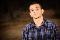 Ritratto dell'adolescente del African-American Immagini Stock
