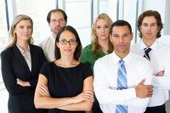 Ritratto dell'affare Team In Office Fotografia Stock Libera da Diritti