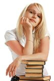Ritratto dell'allievo femminile Fotografia Stock Libera da Diritti