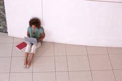 Ritratto dell'allievo femminile Fotografie Stock