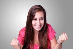 Ritratto dell'allievo sorridente Immagine Stock
