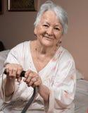 Ritratto dell'anziana Immagini Stock