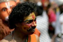 Ritratto dell'artista indù - festival pongal Fotografia Stock Libera da Diritti