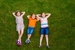 Ritratto dell'bambini svegli Immagini Stock Libere da Diritti