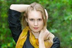Ritratto dell'giovani belle donne Fotografia Stock