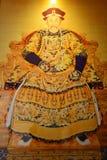 Ritratto dell'imperatore Yong Zheng di Qing Dynasty fotografia stock libera da diritti