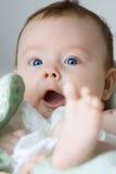Ritratto dell'infante Immagine Stock Libera da Diritti
