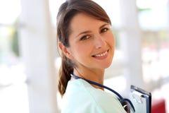 Ritratto dell'infermiera Immagini Stock Libere da Diritti