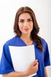 Ritratto dell'infermiera dei giovani Immagine Stock