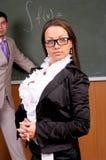 Ritratto dell'insegnante femminile attraente Fotografia Stock Libera da Diritti