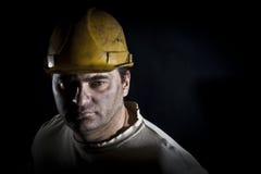 Ritratto dell'operaio Fotografia Stock