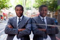 Ritratto dell'uomo africano di affari Fotografia Stock Libera da Diritti