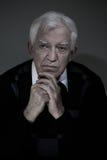 Ritratto dell'uomo anziano Immagine Stock Libera da Diritti