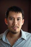 Uomo asiatico Fotografia Stock