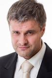 Ritratto dell'uomo d'affari adulto Fotografia Stock