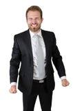 Ritratto dell'uomo d'affari arrabbiato Fotografie Stock Libere da Diritti