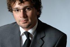 Ritratto dell'uomo d'affari bello Fotografia Stock Libera da Diritti