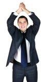 Ritratto dell'uomo d'affari felice Fotografia Stock Libera da Diritti