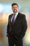 Ritratto dell'uomo d'affari senior ispano Immagine Stock Libera da Diritti