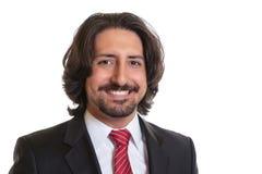 Ritratto dell'uomo d'affari turco con la barba Immagine Stock