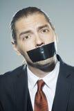 Ritratto dell'uomo di affari Fotografia Stock Libera da Diritti