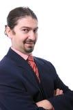 Ritratto dell'uomo di affari Immagini Stock Libere da Diritti