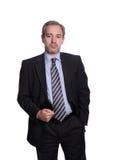 Ritratto dell'uomo di affari maturi Fotografia Stock