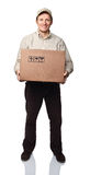 Ritratto dell'uomo di consegna Immagine Stock Libera da Diritti