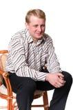 Ritratto dell'uomo di Medio Evo Fotografie Stock Libere da Diritti