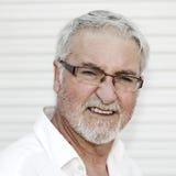 Ritratto dell'uomo senior Fotografia Stock Libera da Diritti