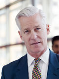 Ritratto dell'uomo senior bello di affari Fotografia Stock Libera da Diritti