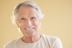 Ritratto dell'uomo senior felice Fotografia Stock