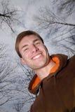 Ritratto dell'uomo, sorriso Fotografia Stock